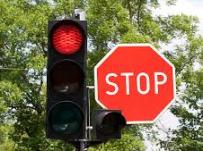 Stop Light & Sign
